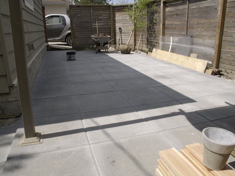 Some Questions Before I Place 2 X 2 100lbs Concrete