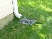 Standing Water In Underground Pipe W/French Drain ...