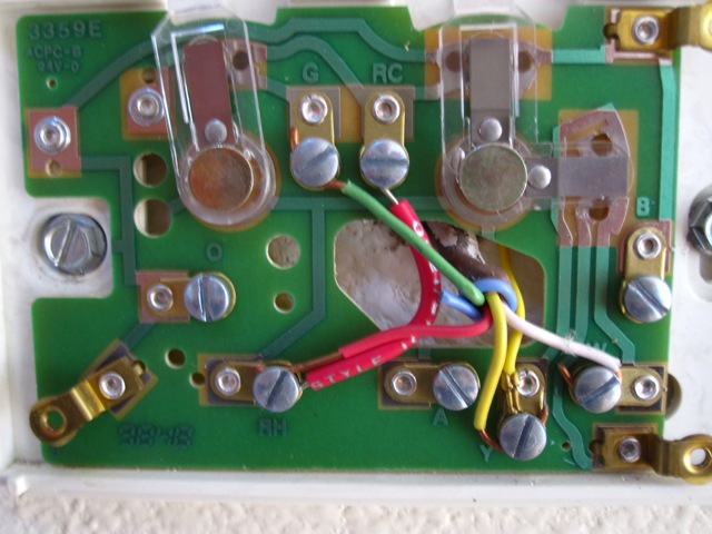 Diagram Besides Honeywell Thermostat Wiring Diagram On White Rodgers