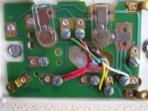 Need Help Wiring Honeywell Thermostat From White Rodgers