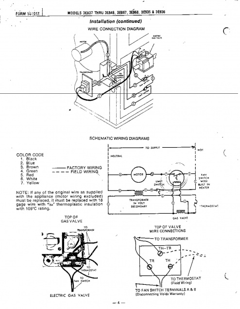 dayton gas heater wiring diagram