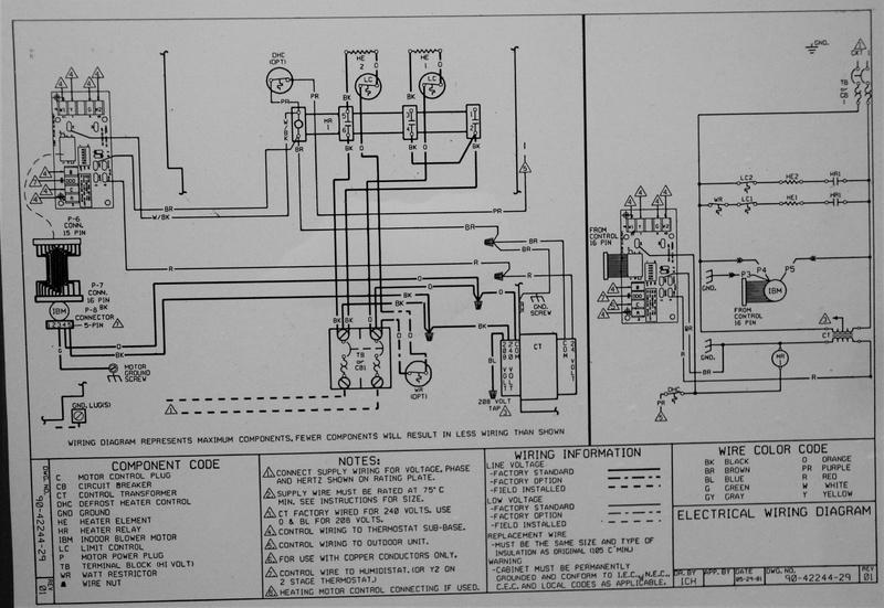 Air Handler Wiring Diagrams On Wiring Diagram For Goodman Condenser