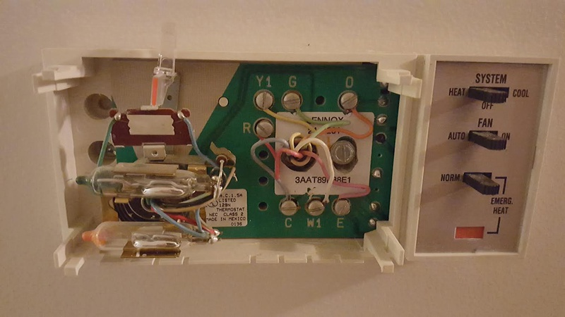 Air Conditioner Thermostat Wiring Air Conditioner Thermostat Wiring