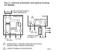 Wiring A Honeywell RA89A Relay  HVAC  DIY Chatroom Home Improvement Forum