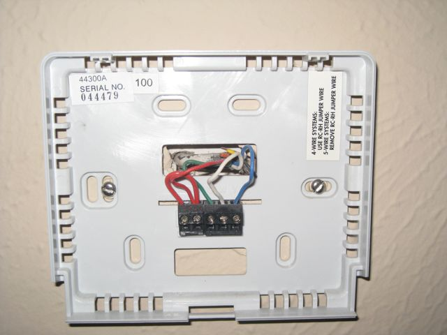 Thermostat Wiring Consists Of Wires That Connect The Transformer To