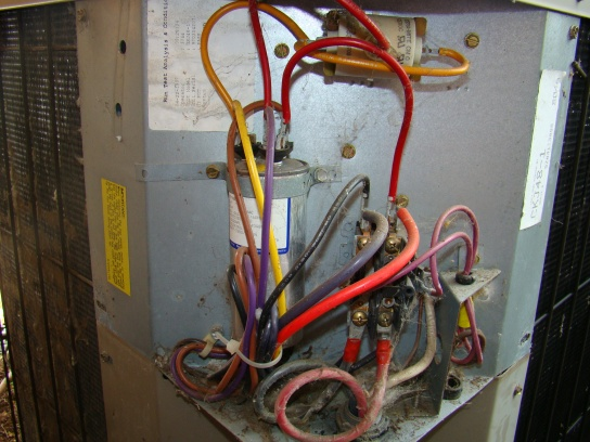 American Standard Furnace Schematic How To Replace Condensor Fan Motor Hvac Diy Chatroom