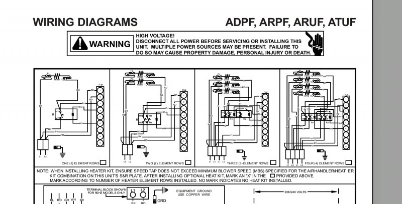 Electric Heat Wiring Diagram Electric Heat Wiring Diagrams Wiring