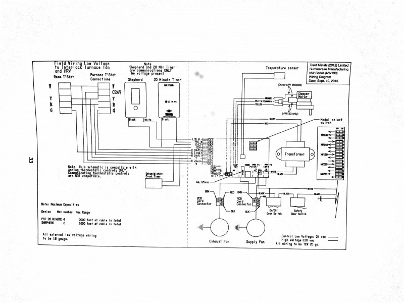 Lifebreath Hrv Wiring Diagram : 29 Wiring Diagram Images
