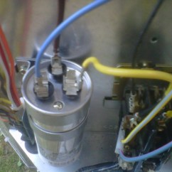 Capacitor Run Motor Wiring Diagram Pioneer Deh 1500 Can I Use A 2-pronged With This Bryant Air Condensor? - Hvac Diy Chatroom Home ...