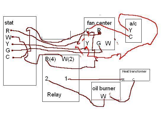honeywell fan center relay wiring diagram  universal o2
