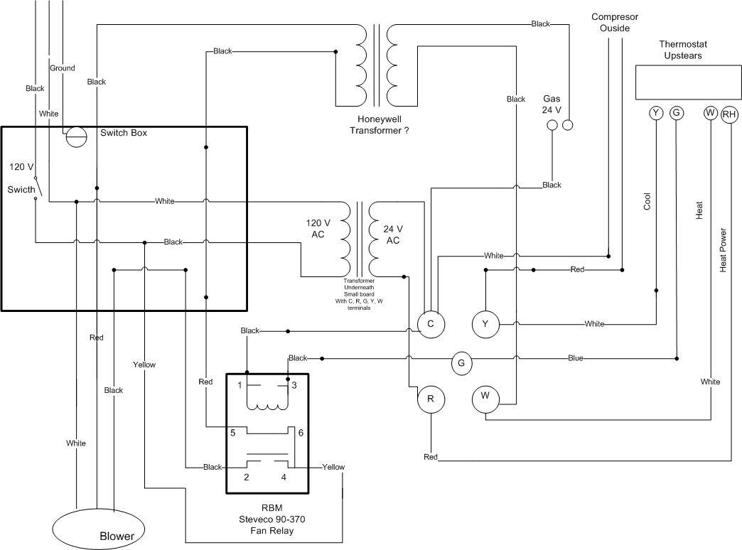 hight resolution of 24 hvac blower relay wiring