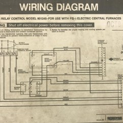 Intertherm Thermostat Wiring Diagram Ford 8n Problems Blower Relay Great Installation Of 1991 Nordyne Furnace With Added Ac Split System Hvac Rh Diychatroom Com Complete