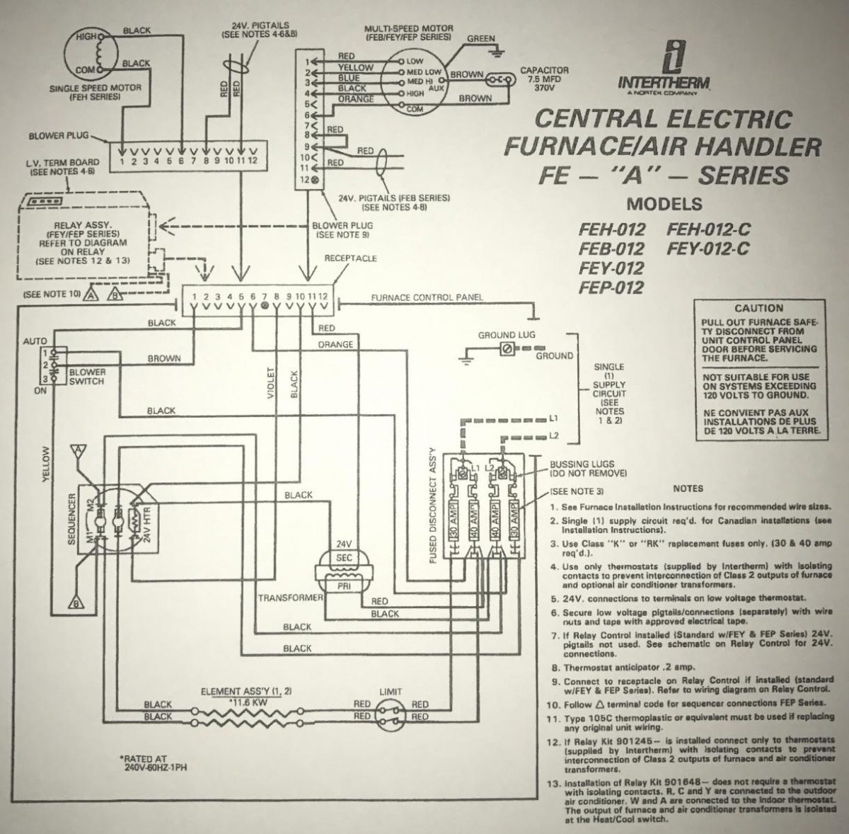 hight resolution of  1991 intertherm nordyne furnace with added ac split system img 1607 1504804878471 jpg