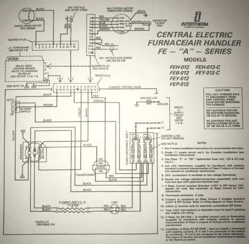 small resolution of  1991 intertherm nordyne furnace with added ac split system img 1607 1504804878471 jpg