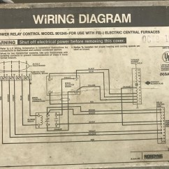 Wiring Diagram For Nordyne Electric Furnace True T49f 1991 Intertherm With Added Ac Split System