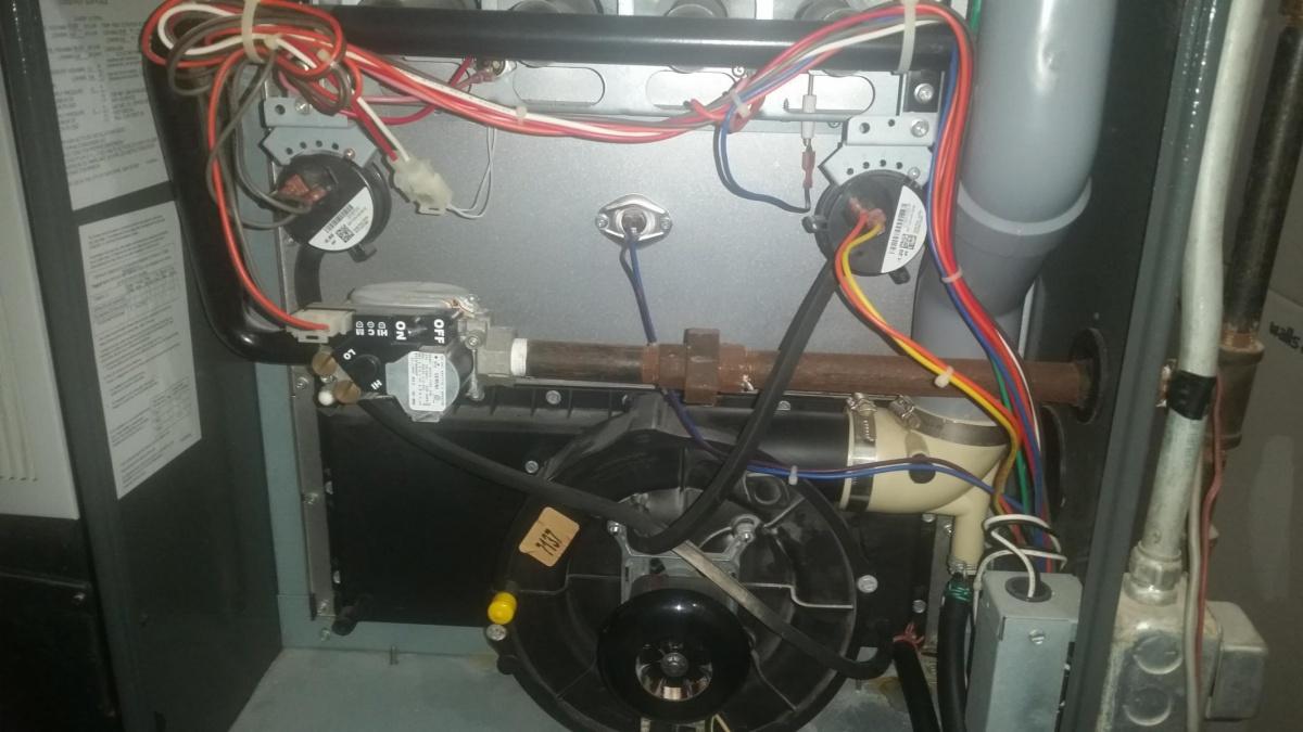 Goodman Furnace Pressure Switch Stuck Open