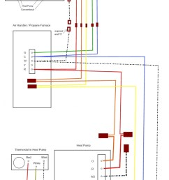 dual system heat pump with gas furnace turning gas heat on whendual system  [ 729 x 1200 Pixel ]