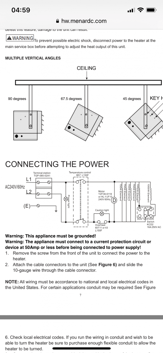hvac wiring diagram thermostat deh p5000ub low voltage on profusion electric heater - diy chatroom home ...