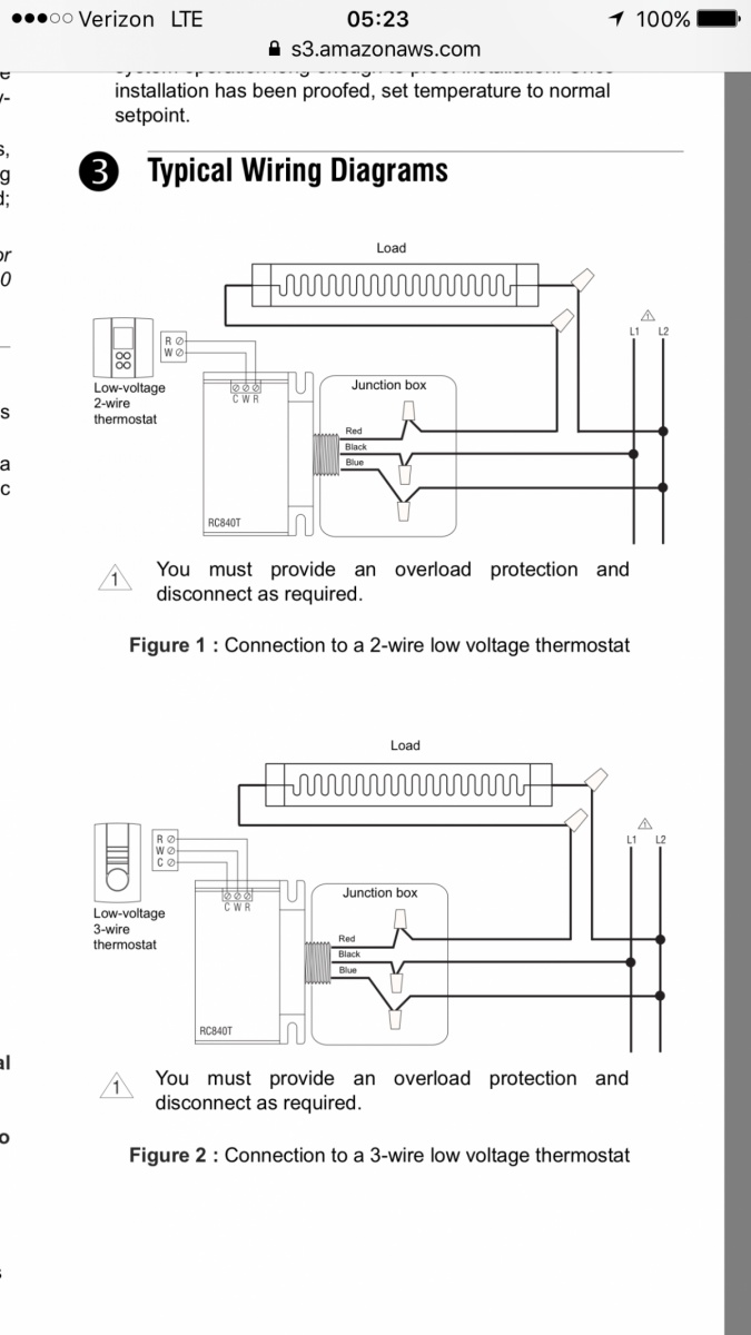 hight resolution of  wiring low voltage thermostat on profusion electric heater 9b774fa5 5b38 436e a2ee