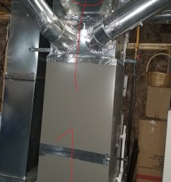 aprilaire 500 whole house humidifier install 1 jpg  [ 675 x 1200 Pixel ]