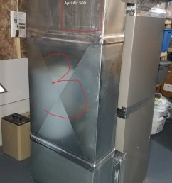 aprilaire 500 whole house humidifier install 3 jpg [ 675 x 1200 Pixel ]