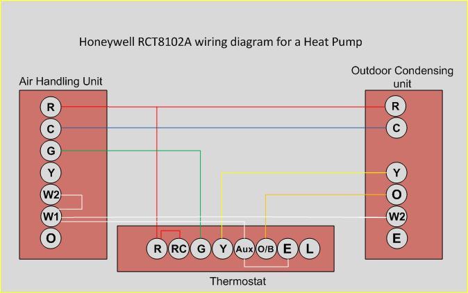 honeywell rth221b wiring diagram rth111b great installation of thermostat hvac page 2 diy chatroom home improvement rh diychatroom com rth111