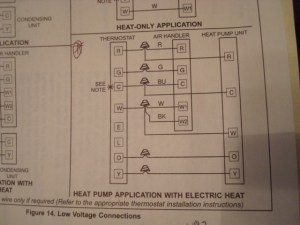 Which Diagram To Use On Lenox Thermostat Wiring Setup? Heat Pump Lenox Techs Needed  HVAC  DIY