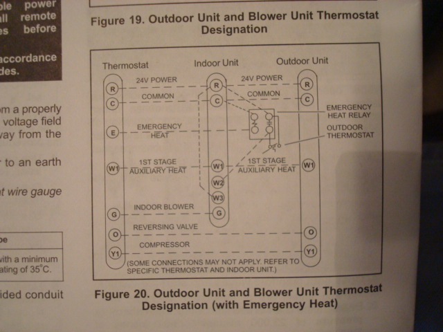 lennox wiring diagram thermostat 2003 buick rendezvous abs which to use on lenox setup heat pump techs needed