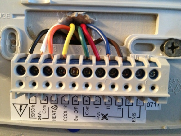 Thermostat Wiring Diagram Also Thermostat Wire Color Code Wiring