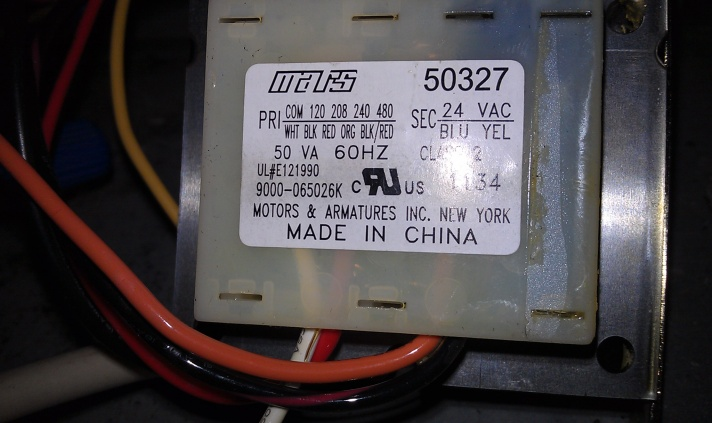 Old Electrical Wiring Colors Likewise Carrier Air Handler Transformer