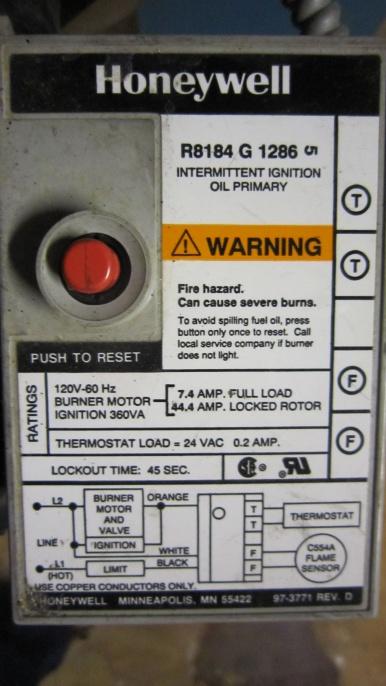 beckett oil les paul wiring diagrams intermittent burner needs reset every day hvac diy img 4285 jpg