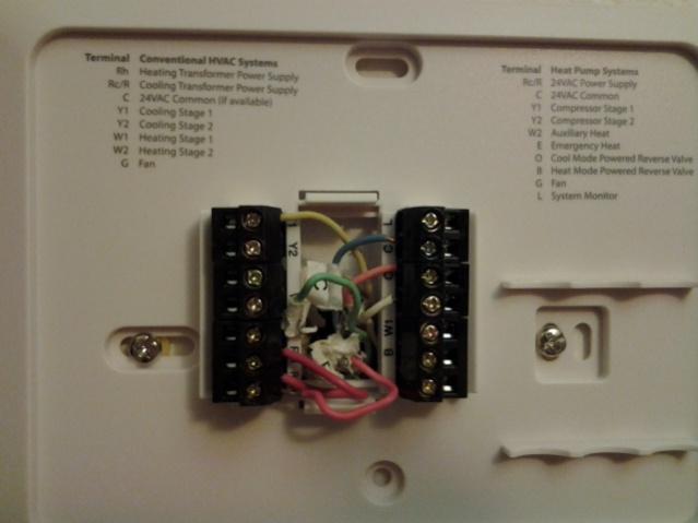Thermostat Wiring Diagram Also 5 Wire Thermostat Wiring Colors In