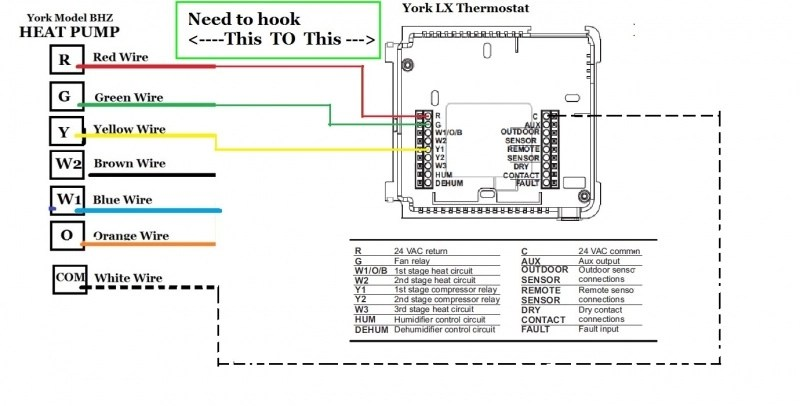 goodman heat pump wiring diagram thermostat pentair pool simple ?? question - hvac diy chatroom home improvement forum