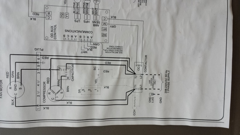 Schematic And Wiring Diagram For Home Ac Wiring Diagram Polesioco
