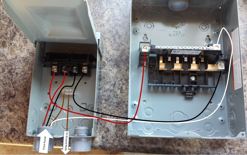 Wiring Diagram For Subpanel Electrical Diy Chatroom Home