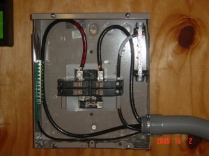 100 Amp Attached Garage Sub Plan  Electrical  DIY