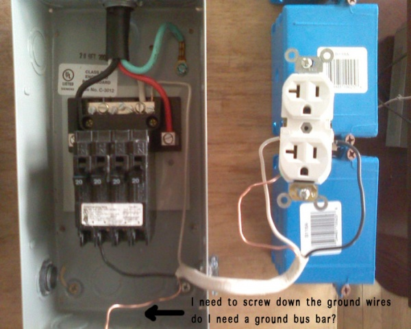 240v To Subpanel With 4x 120v Circuits Electrical Diy Chatroom
