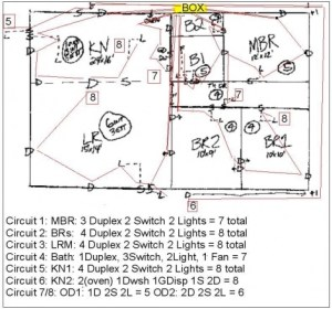 Correct Wiring Diagram For 1 Story House  Electrical