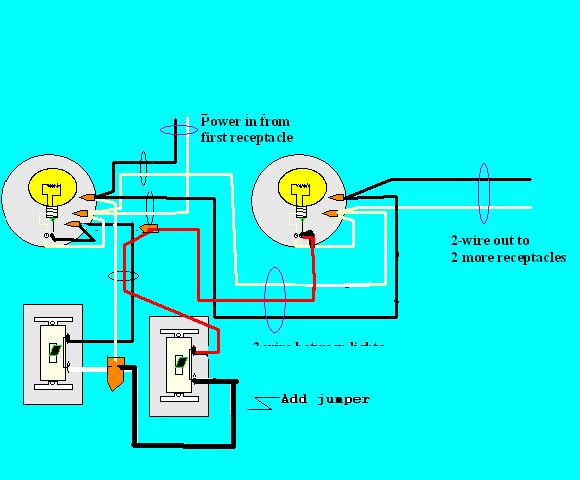 how to wire a day night switch diagram poulan pro chainsaw parts wiring electrical diy chatroom home improvement forum power 20in 20to 20lights 20one 20switch 20leg