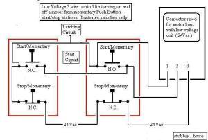 Ancient NEMA 2 Motor Startercontrol Circuit Quest's