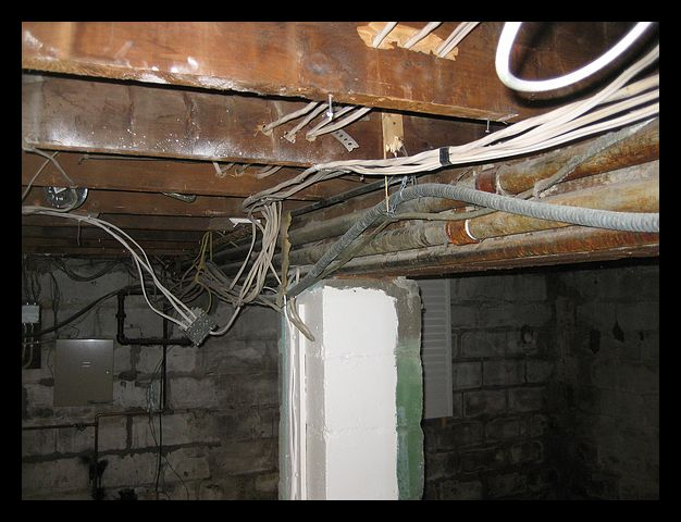 Basement Wiring Insulation Electrical Diy Chatroom Home