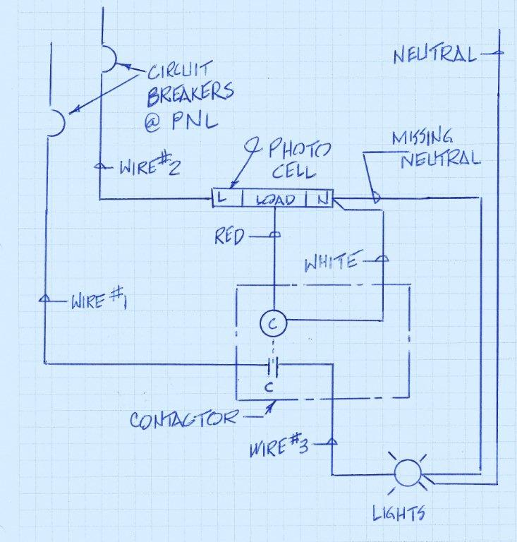 electrical lighting contactor wiring diagram 1989 ez go golf cart issue with a definite purpose and photo cell. - page 2 diy chatroom ...