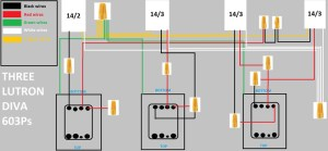 Replacing 3 Diva Switches And 2