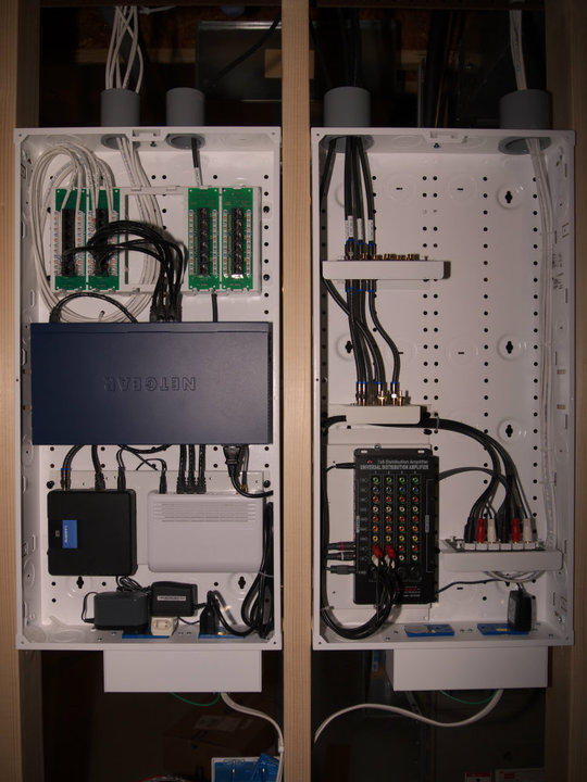 New Home Network Wiring