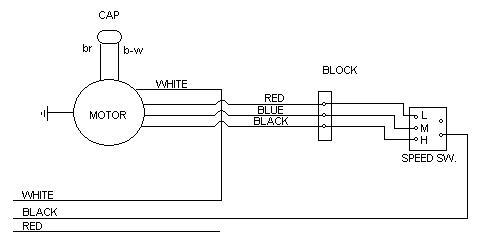 hampton bay fan wiring diagram in ceiling speaker blower motor for exhaust - electrical diy chatroom home improvement forum