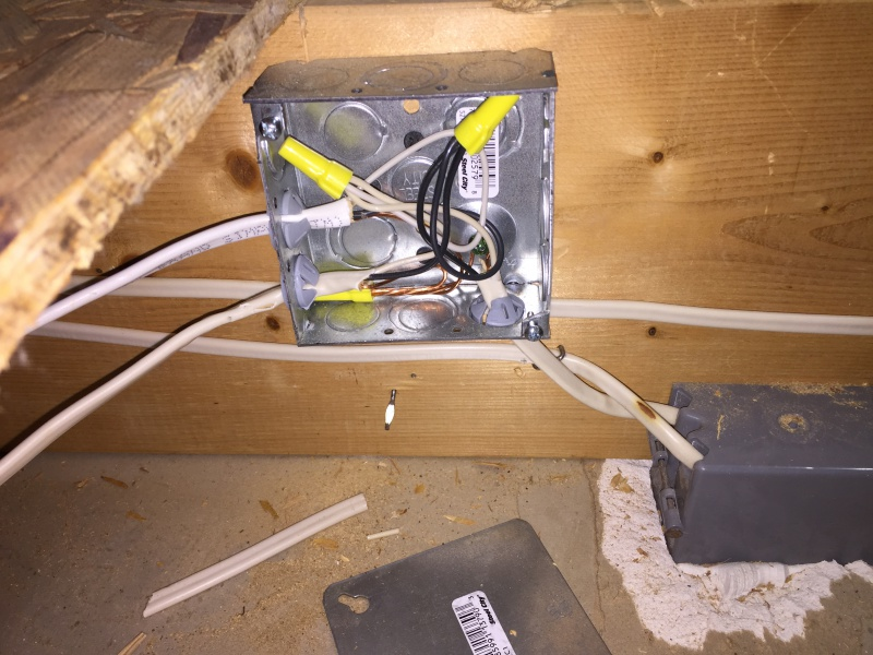 Wiring Junction Box Hidden