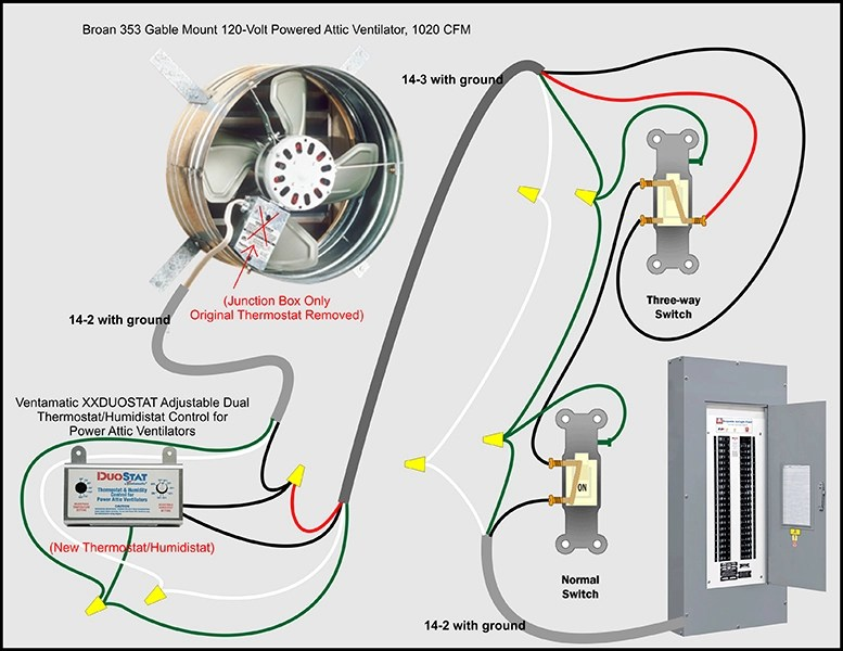 attic fan thermostat wiring diagram vaillant ecotec plus 438 bypass & kill switch - electrical diy chatroom home improvement forum