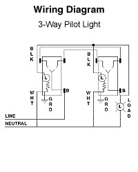3 way switch with pilot light diagram sun moon and earth wiring for three switches electrical diy chatroom home improvement forum