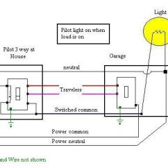 5 Way Light Switch Wiring Diagram Three Lights One For Switches With Pilot Electrical 3