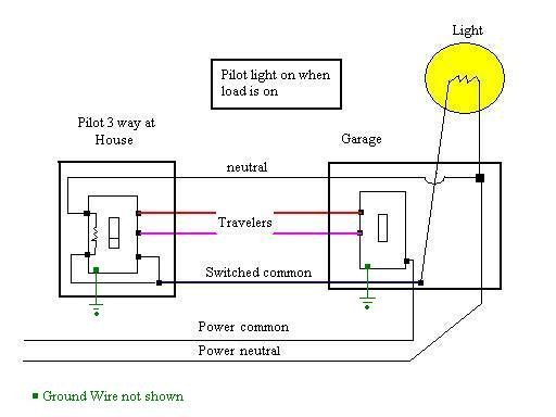 lamp wiring diagram of larynx with labeling for three way switches pilot light electrical 3